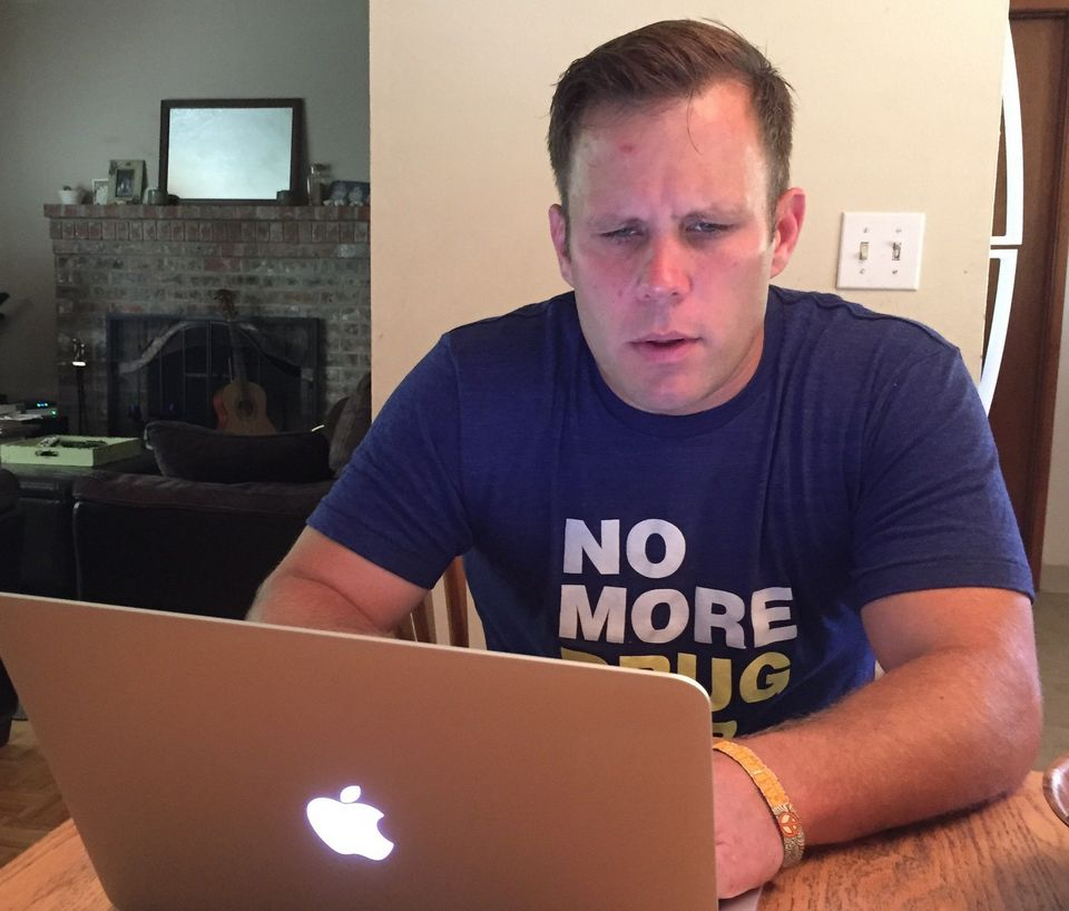 Activist Travis Maurer