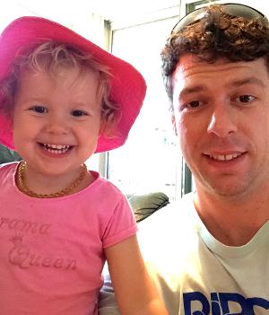 adam koessler with daughter rumer