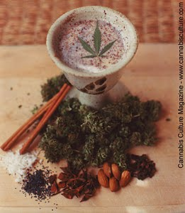 indian bhang cannabis drink