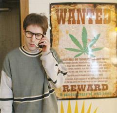Cannabis activist marijuana David Malmo-Levine