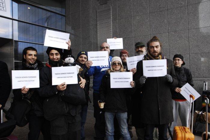 free pannnagh activists