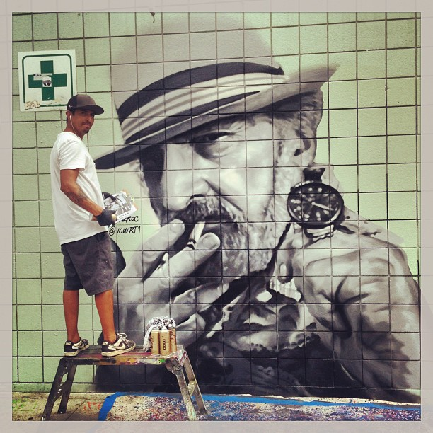 jack herer mural benice beach california