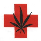 Medical cannabis red cross