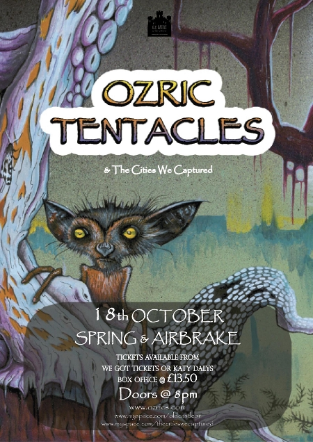 ozric tentacles belfast spring and airbrake