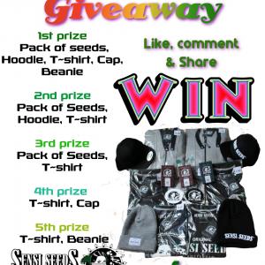 Win Sensi Seeds Latest Street Wear & Seeds