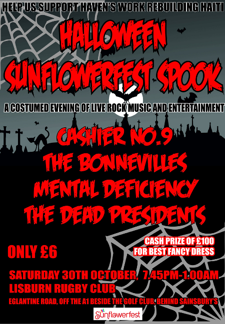 sunflower spook fest