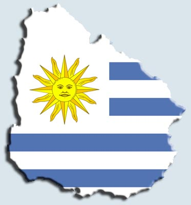 uruguay flag cannabis marijuana goverment sale